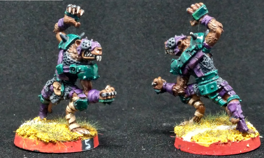 Blitzer Skaven de Blood Bowl
