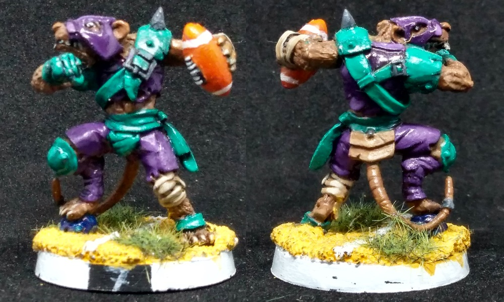 Lanzador skaven de blood bowl