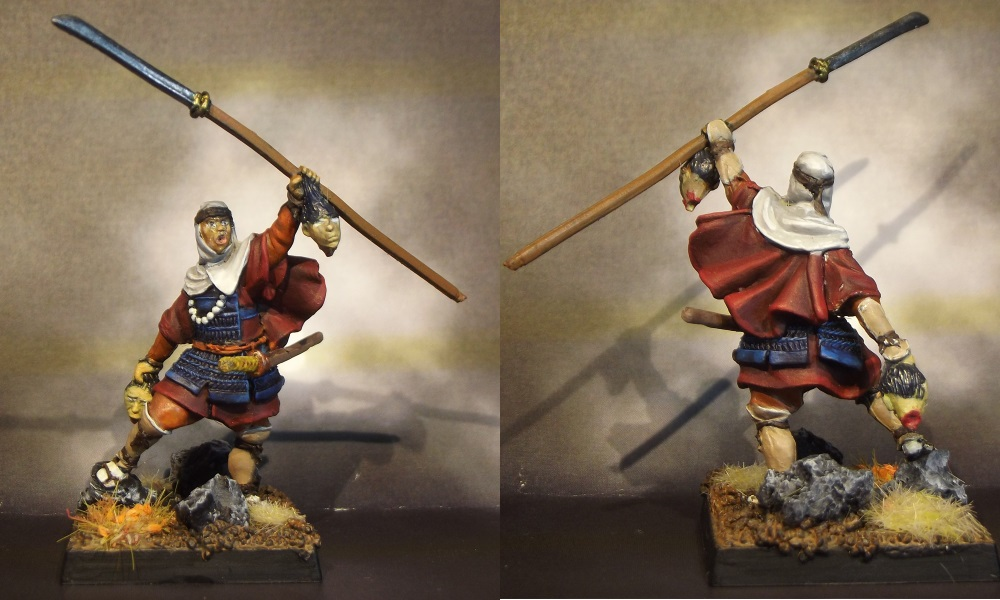Sohei con Naginata, Zenit miniatures